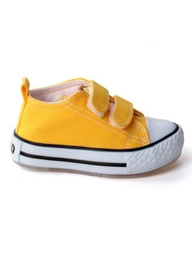 Vicco Vicco 925.20Y.150 Günlük Işıklı Kız/Erkek Çocuk Keten Ayakkabı Sarı